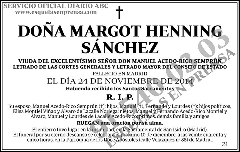 Margot Henning Sánchez